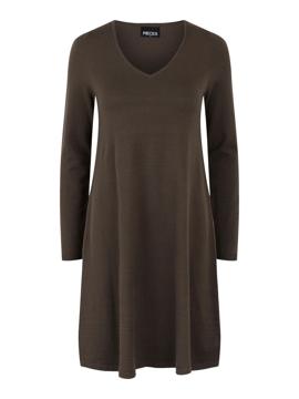 PC Cenia Ls V-Neck Knit Dress